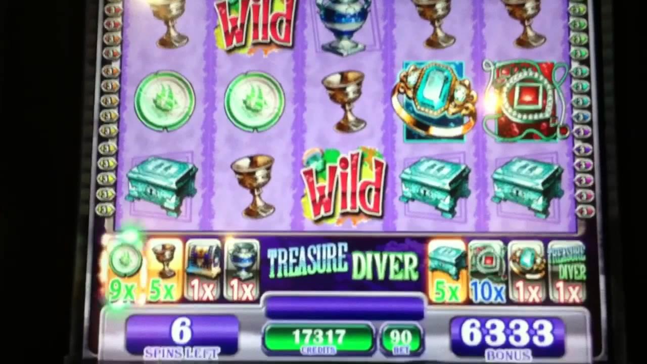 Treasure Diver Slot Machine