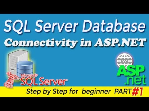 SQL Server Database Connectivity in ASP.NET