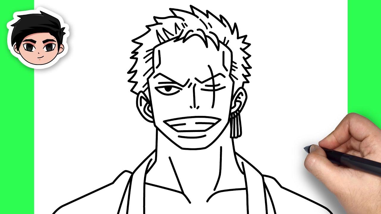 How To Draw Roronoa Zoro | One Piece – Easy Step By Step Tutorial | Khái quát các nội dung liên quan đến cách vẽ zoro one piece đúng nhất