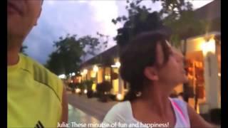 Julia Volkova Video (Thailand Vacation) with subtitle