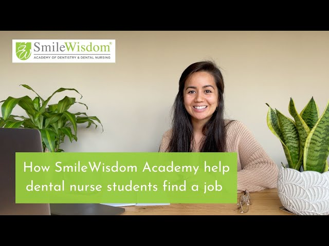 How dental nurse students can find a job with SmileWisdom