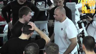 Федор Емельяненко. Клинч. Fedor Emelianenko. Clinch.
