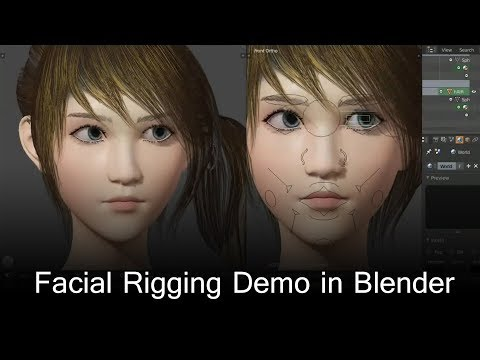 Advanced Facial Rig help - Animation and Rigging - Blender Artists
