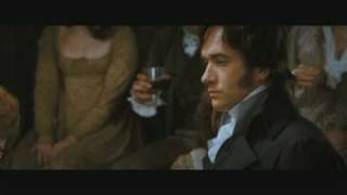 Pride and Prejudice. Darcy.  A man in love...
