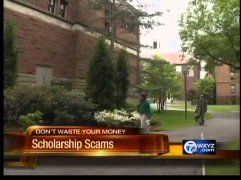 College sholarship scam warning