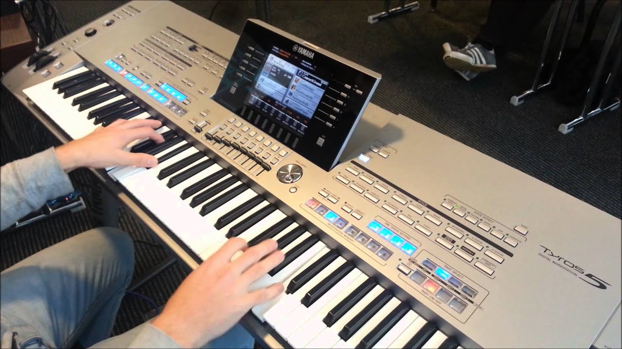 Yamaha tyros 5 pre release spy shots youtube for Yamaha tyros 5