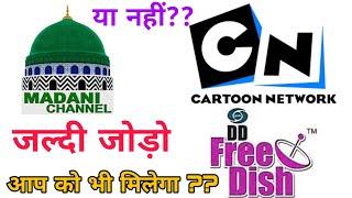Gute Nachricht DD frei Gericht Sie mich hinzufügen neuer Kanal Madni und cartoon network add new channel