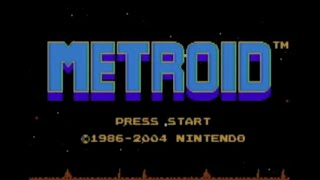 Metroid (NES) in Wii U VC Metroid: Zero Mission (GBA)- Gameplay Footage