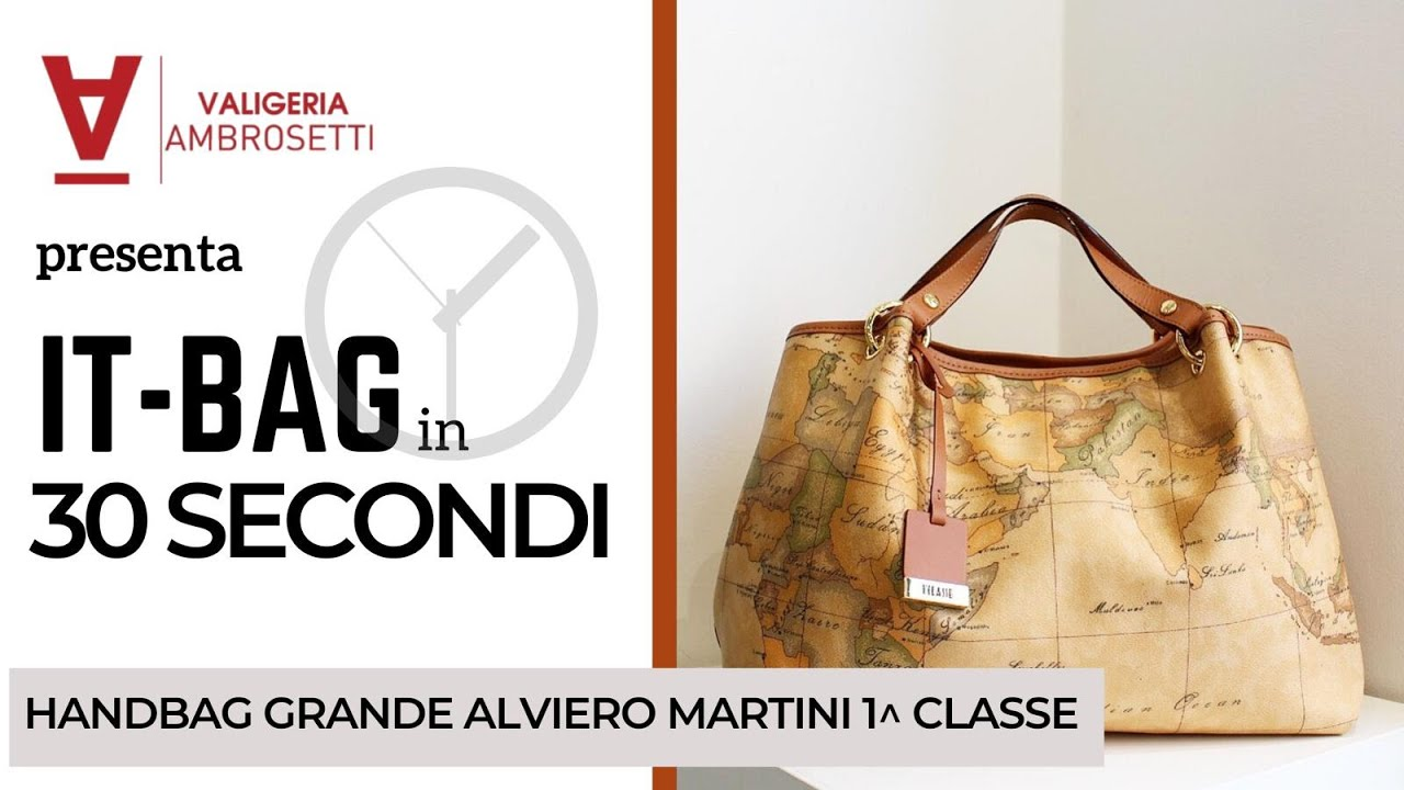 09eb7c385f IT-BAG IN 30 SECONDI | Borsa a mano ALVIERO MARTINI 1^ CLASSE grande ...