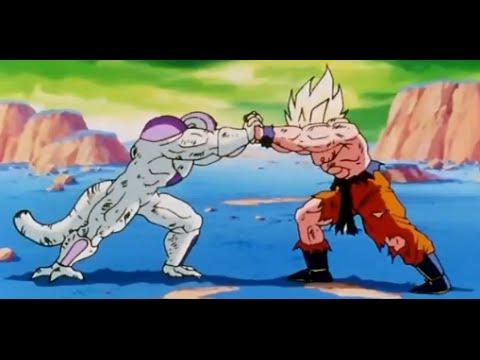 Dragonball Z-Goku vs Frieza (AMV Rap)