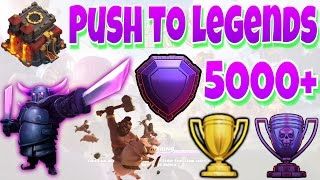 TOWN HALL 10 TO LEGENDS TROPHY PUSH EPISODE 3!! SUPER SEXY LOOT SPENDING!! |Clash of Clans