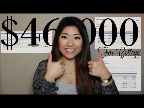 How I Received Over $46,000 to go to College! | No Loans