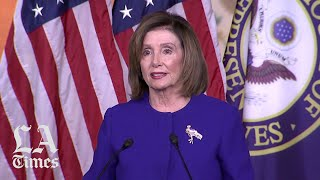 Pelosi on releasing articles of impeachment: 'I'll send them over when I'm ready'
