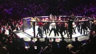 McGregor Post fight Brawl