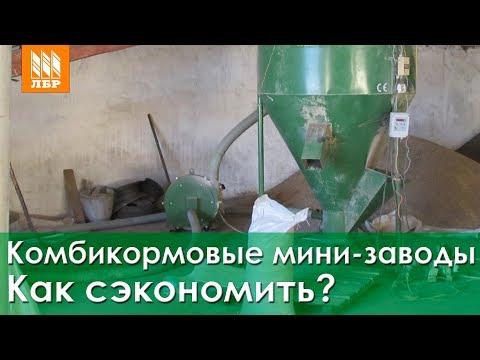 Комбикормовый мини-завод. Как сэкономить на производстве комбикорма?