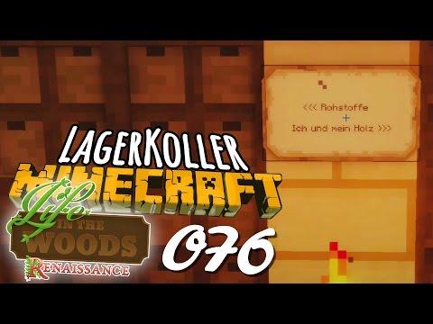 LAGER IN THE WOODS #076 🌳 Ei Der Daus, Ein LAGERHAUS!   Let's Play MINECRAFT mit Lee