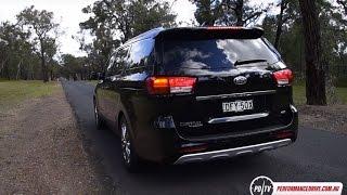 2016 Kia Carnival V6 0-100km/h & engine sound