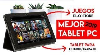 Mejor TABLET PC 2019 para JUGAR JUEGOS, ESTUDIAR y TRABAJAR | ¡Tablet BARATA y CONVERTIBLE a PC!