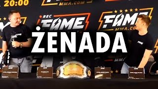 FAME MMA - DANIEL MAGICAL vs ADRIAN POLAK - festiwal żenady