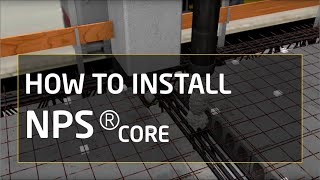 How to install NPS® CORE: column, beam and Hollowcore slab