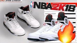 2K18 Jordan Shoe Tutorial f7e24d3a1