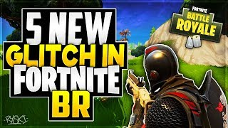 Fortnite BR Glitches: The 5 Best Glitchs in Battle Royale, God Mod! @EpicGames!
