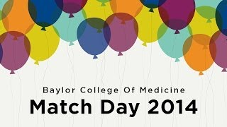 Baylor College of Medicine MS4s learn where they match