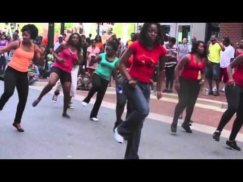 African House - Dance Flashmob @ Downtown Silver Spring | Toni-K