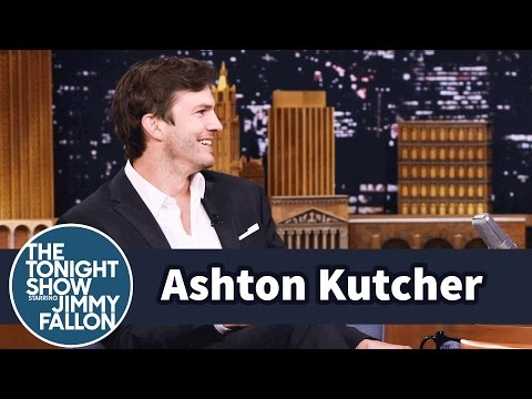 Ashton Kutcher Talks About Making Humans with Mila Kunis