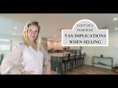 What are the tax implications for selling a home on The Main Line PA?  📝🏘