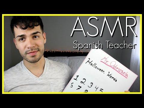 ASMR - Teacher Role Play | Spanish (Español, Intense Male Whisper, Close Up)