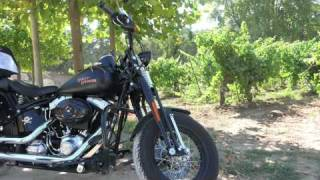 A GOOD YEAR : Luberon and all the places of the movie with our Harley!