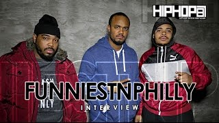 FunniestnPhilly Talks BB Gun Skit That Sent Him To Jail, Atown, Radio Show, 2015 Goals & more