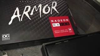 Как установить видеокарту RADEON RX 580 на 8 GB в маленький корпус ПК