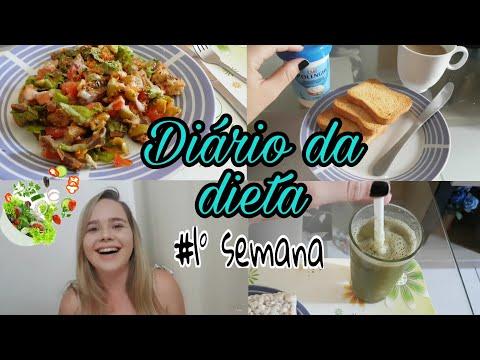 Diário da dieta 1 - Camila Costa  peso atual 63kg