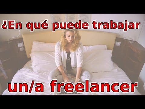 ¿En qué se puede trabajar como freelancer?