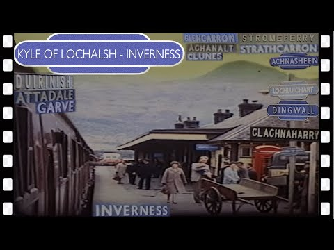 KYLE OF LOCHALSH to INVERNESS in 1964