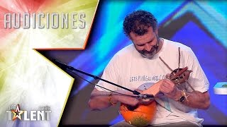 ¡Una orquestra frutera! | Audiciones 2 | Got Talent España 2017