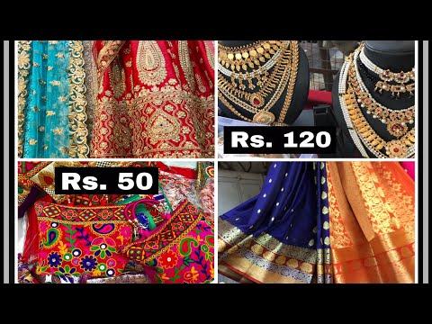 Top 2 Markets-Wholesale/retail Fabric-Affordable Ethnic/Indian wears- Hindmata(Dadar) Gandhi Market