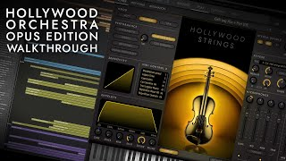 EastWest Hollywood Orchestra Opus Edition Walkthrough