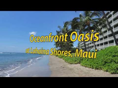Maui Luxury Oceanfront Oasis Vacation Rental at the Lahaina Shores Resort