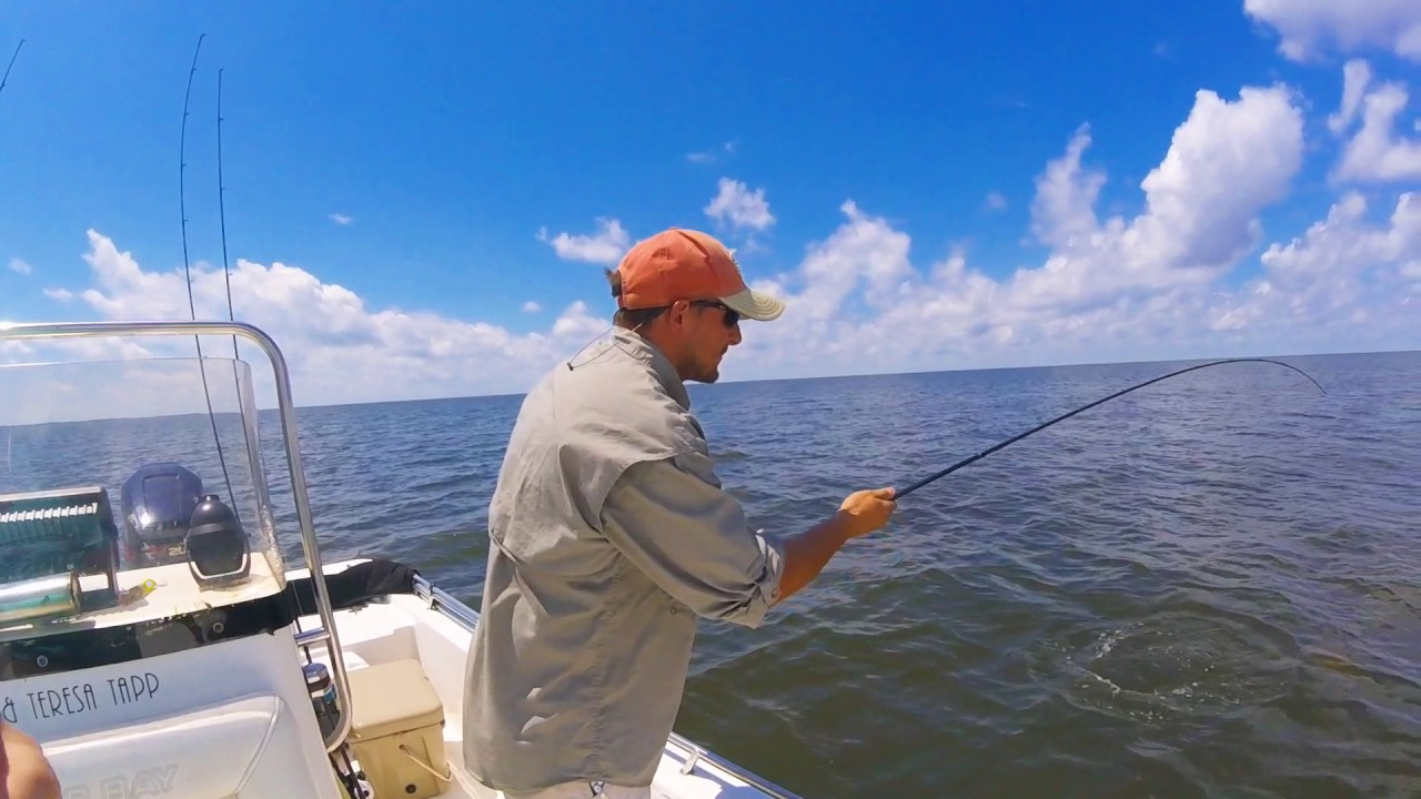 Fishing at cat island mississippi youtube for Mississippi out of state fishing license