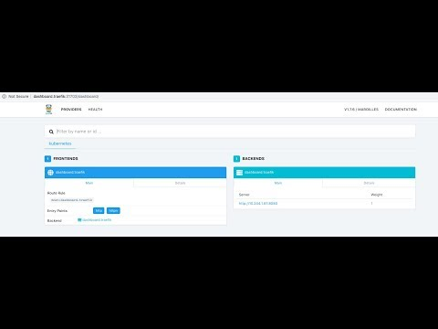How to install and configure traefik in kubernetes helm