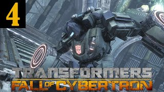 Transformers Fall of Cybertron Walkthrough Part 4 No Commentary 1080p 60FPS