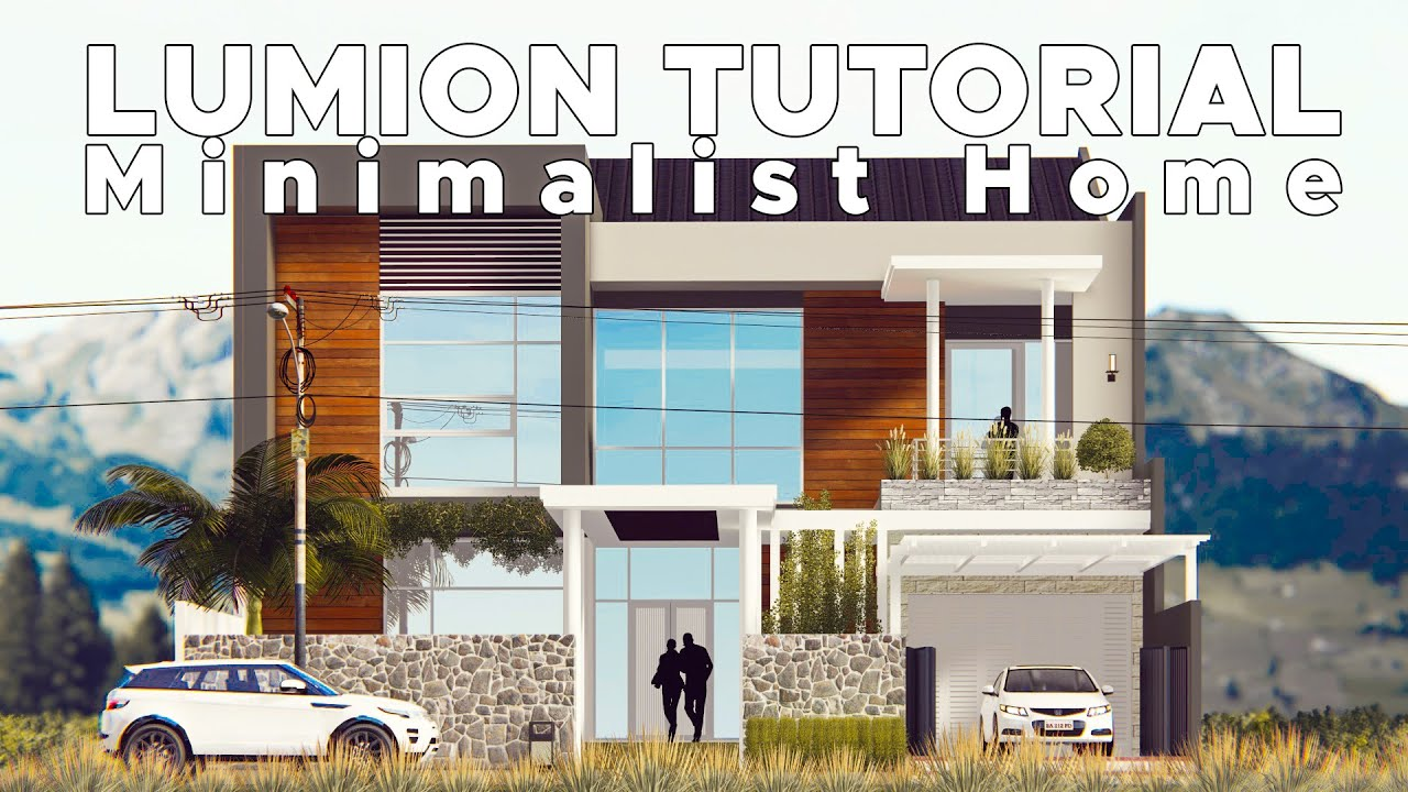 Sketchup Render Lumion 6 59 Best Minimalist House 4 Youtube