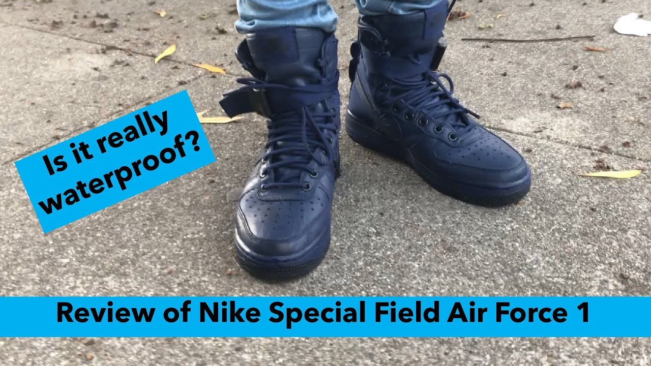 NIKE SPECIAL FIELD AIR FORCE 1 REVIEW