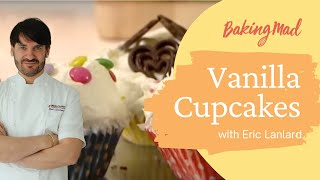 How to make Vanilla Cupcakes   Baking Mad