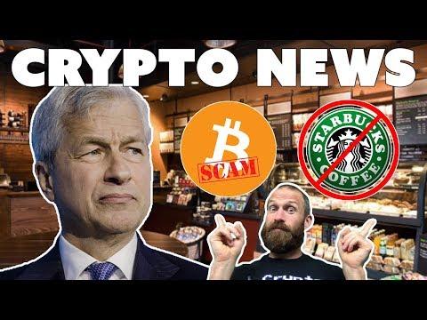 Crypto = SCAM | $ETC Moon??? | Starbucks Rejects $BTC