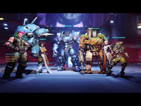 Overwatch - 1080p 60fps - Part 7 - Bastion - PS4 Gameplay