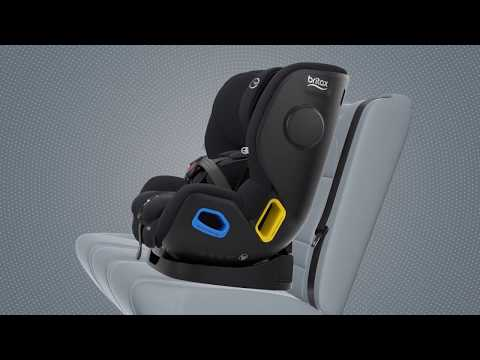 Britax Safe-n-Sound B-first Forward Facing Installation Guide